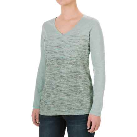 Columbia Sportswear Sunset Falls T-Shirt - Long Sleeve (For Women) in Dusty Green - Closeouts