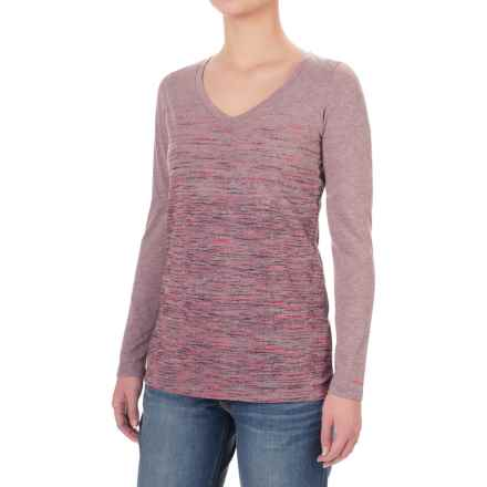Columbia Sportswear Sunset Falls T-Shirt - Long Sleeve (For Women) in Dusty Purple - Closeouts