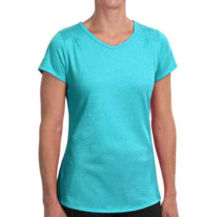 Columbia Sportswear Sunstone Bridge T-Shirt - UPF 15, Short Sleeve (For Women) in Geyser Heather - Closeouts