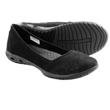 Columbia Sportswear Sunvent Ballet Flats - Leather (For Women) in Black - Closeouts