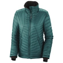 Columbia Sportswear Supa Kaleida Omni-Heat® Jacket - Insulated (For Plus Size Women) in Blue Forest - Closeouts