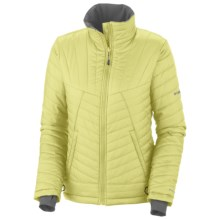 Columbia Sportswear Supa Kaleida Omni-Heat® Jacket - Insulated (For Plus Size Women) in Neon Light - Closeouts