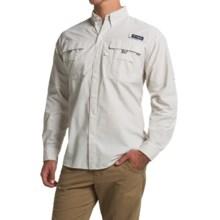 Columbia Sportswear Super Bahama Shirt - UPF 30, Long Sleeve (For Men) in Amber Multi Gingham - Closeouts