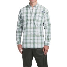 Columbia Sportswear Super Bahama Shirt - UPF 30, Long Sleeve (For Men) in Commando Plaid - Closeouts
