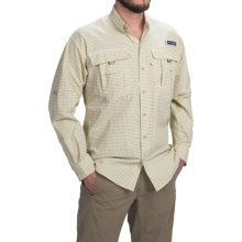 Columbia Sportswear Super Bahama Shirt - UPF 30, Long Sleeve (For Men) in Crescent Gingham - Closeouts
