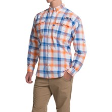 Columbia Sportswear Super Bahama Shirt - UPF 30, Long Sleeve (For Men) in Jupiter Large Plaid - Closeouts