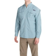 Columbia Sportswear Super Bahama Shirt - UPF 30, Long Sleeve (For Men) in Shasta Gingham - Closeouts