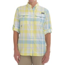 Columbia Sportswear Super Bahama Shirt - UPF 30, Roll-Up Long Sleeve (For Women) in Sunnyside Check - Closeouts
