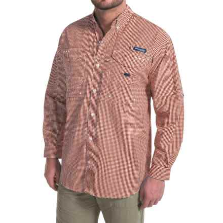 Columbia Sportswear Super Bonehead Classic Shirt - UPF 30, Long Sleeve (For Big and Tall Men) in Tribal Gingham - Closeouts