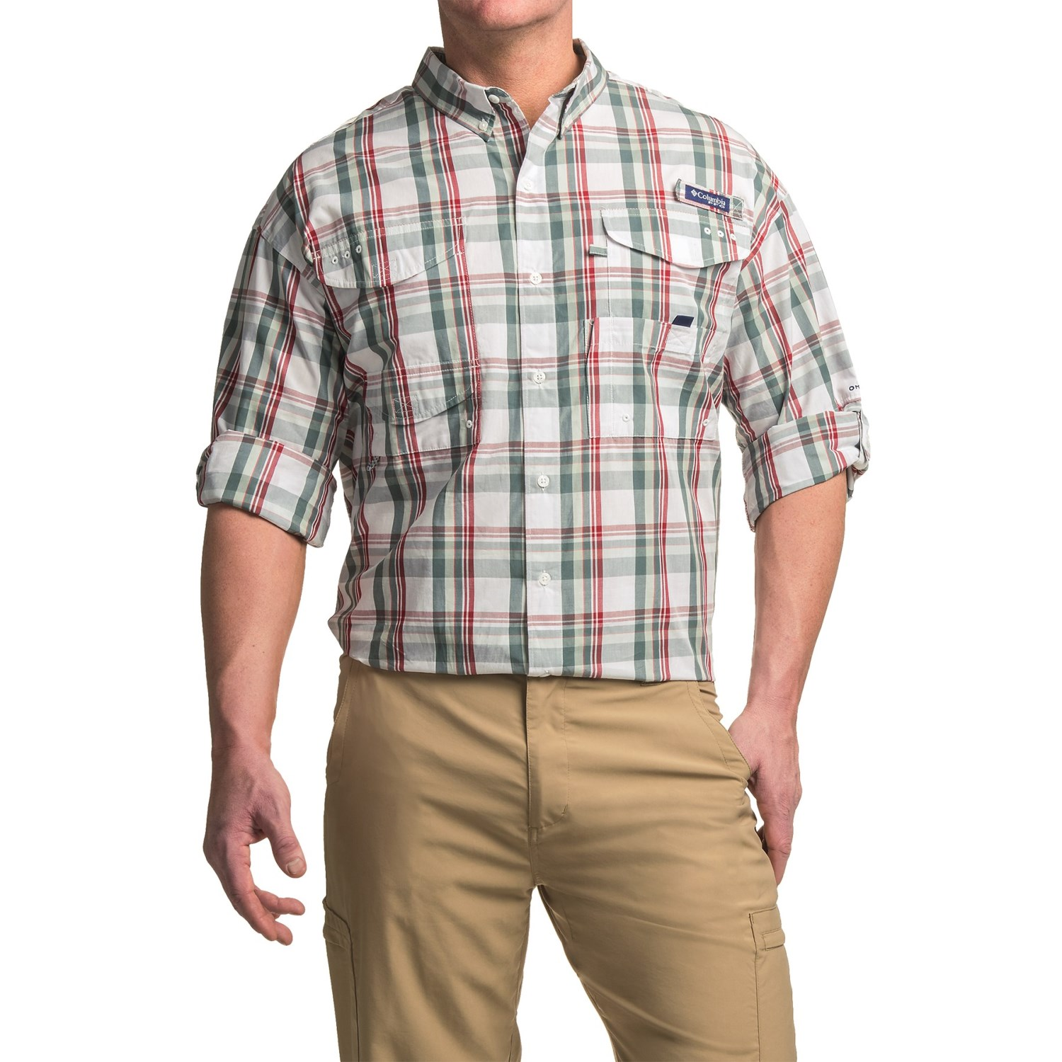 Columbia sportswear super bonehead classic shirt for big for Big and tall long sleeve shirts
