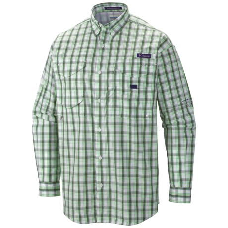 Columbia Sportswear Super Bonehead Classic Shirt - UPF 30, Long Sleeve (For Men) in Commando/Check