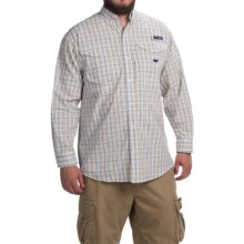 Columbia Sportswear Super Bonehead Classic Shirt - UPF 30, Long Sleeve (For Men) in Cool Grey Small Check - Closeouts