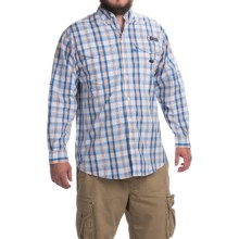 Columbia Sportswear Super Bonehead Classic Shirt - UPF 30, Long Sleeve (For Men) in Jupiter Multi Plaid - Closeouts
