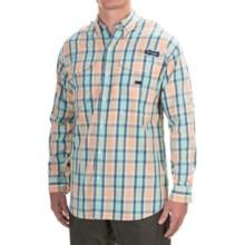 Columbia Sportswear Super Bonehead Classic Shirt - UPF 30, Long Sleeve (For Men) in Jupiter Plaid - Closeouts