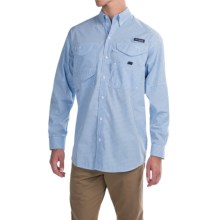 Columbia Sportswear Super Bonehead Classic Shirt - UPF 30, Long Sleeve (For Men) in White Cap Gingham - Closeouts