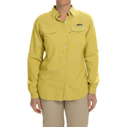 Columbia Sportswear Super Bonehead II Shirt - Long Sleeve (For Women) in Buttercup Oxford - Closeouts