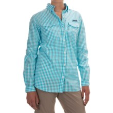 Columbia Sportswear Super Bonehead II Shirt - Long Sleeve (For Women) in Coastal Blue Gingham - Closeouts