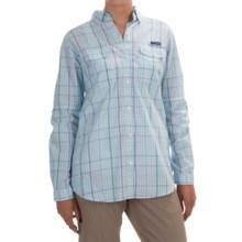 Columbia Sportswear Super Bonehead II Shirt - Long Sleeve (For Women) in Miami Plaid - Closeouts