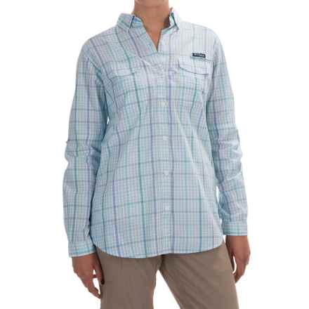 Columbia Sportswear Super Bonehead II Shirt - Long Sleeve (For Women) in Miami Plaid - Closeouts