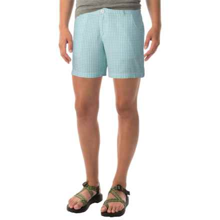 Columbia Sportswear Super Bonehead II Shorts - UPF 30 (For Women) in Candy Mint Gingham - Closeouts