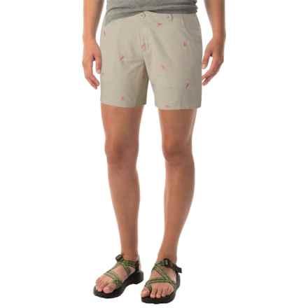 Columbia Sportswear Super Bonehead II Shorts - UPF 30 (For Women) in Fossil/Tropic Pink - Closeouts