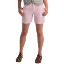 Columbia Sportswear Super Bonehead II Shorts - UPF 30 (For Women) in Haute Pink Seersucker - Closeouts