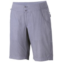Columbia Sportswear Super Bonehead Shorts - UPF 30, Cotton Twill (For Women) in Fairytale/Plaid - Closeouts