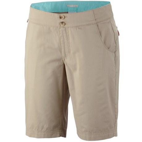Columbia Sportswear Super Bonehead Shorts - UPF 30, Cotton Twill (For Women) in Fossil