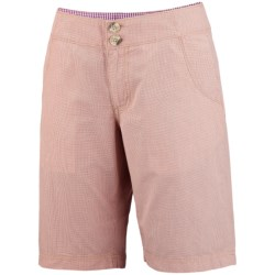 Columbia Sportswear Super Bonehead Shorts - UPF 30, Cotton Twill (For Women) in Marmalade/Mini Yd