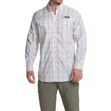 Columbia Sportswear Super Low Drag Shirt - Omni-Wick®, UPF 40, Long Sleeve (For Men) in Jupiter Plaid - Closeouts