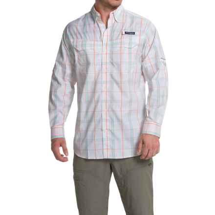 Columbia Sportswear Super Low Drag Shirt - Omni-Wick®, UPF 40, Long Sleeve (For Men) in Jupiter Plaid - Closeouts