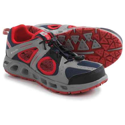 Columbia Sportswear Supervent Water Shoes (For Little and Big Kids) in Nocturnal/Light Grey - Closeouts