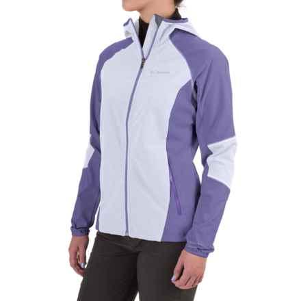 Columbia Sportswear Sweet As II Soft Shell Hoodie Jacket (For Women) in Faded Sky - Closeouts