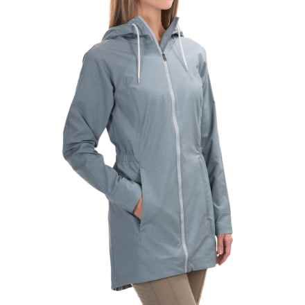 Columbia Sportswear Sweet As Jacket - Long, Soft Shell (For Women) in Cirrus Heather - Closeouts