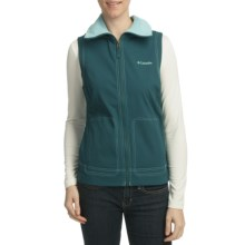 Columbia Sportswear Sweet Seasons Vest (For Women) in Blue Forest - Closeouts