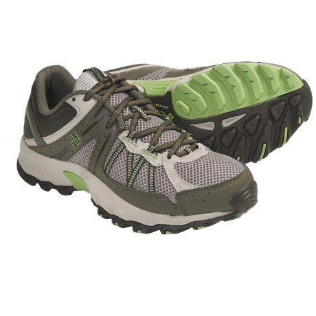 Columbia Sportswear Switchback 2 Low Trail Shoes (For Women) in Moon Rock/Jade Lime