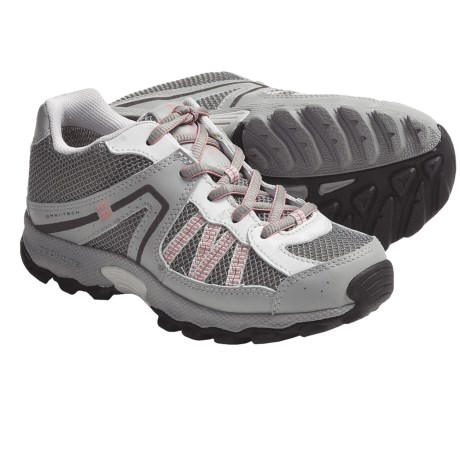 Columbia Sportswear Switchback 2 Omni-Tech® Trail Shoes - Waterproof (For Youth) in Smoked Pearl/Mauveglow