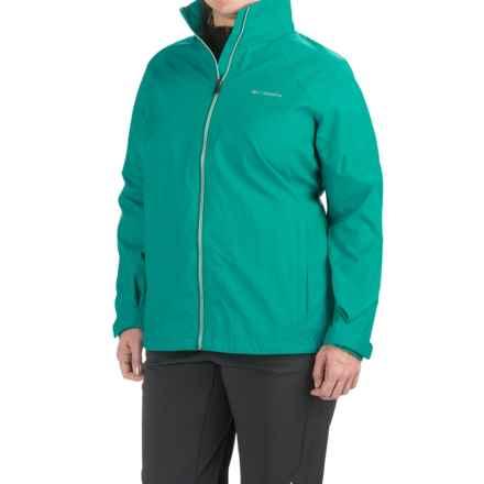 Columbia Sportswear Switchback II Jacket (For Plus Size Women) in Mayan Green - Closeouts