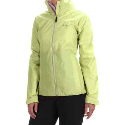 Columbia Sportswear Switchback II Jacket - Hooded, Packable (For Women) in Neon Light - Closeouts