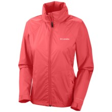 Columbia Sportswear Switchback II Jacket - Hooded, Packable (For Women) in Red Hibiscus - Closeouts