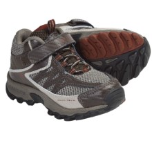 Columbia Sportswear Switchback Plus Mid Shoes - Waterproof (For Kids) in Cordovan/Autumn Orange - Closeouts