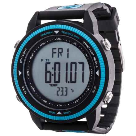 Columbia Sportswear Switchback Watch in Black/Blue - Closeouts