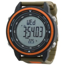Columbia Sportswear Switchback Watch in Forest/Orange - Closeouts