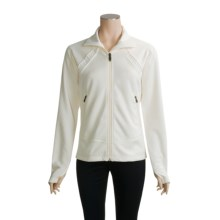 Columbia Sportswear SWT Fleece Jacket - Titanium (For Women) in Winter White/Winter White - Closeouts