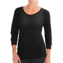 Columbia Sportswear Sycamore Creek Sweater - Semi Sheer (For Women) in Black - Closeouts