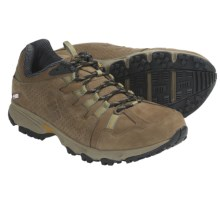 Columbia Sportswear Talus Ridge Leather OutDry® Trail Shoes - Waterproof (For Men) in Saddle/Black - Closeouts