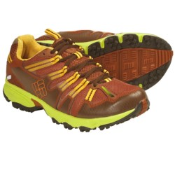 Columbia Sportswear Talus Ridge OutDry® Trail Running Shoes - Waterproof (For Women) in Bombay Brown/Lime Green