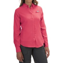 Columbia Sportswear Tamiami II Fishing Shirt - UPF 40, Long Sleeve (For Women) in Bright Geranium - Closeouts