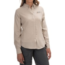 Columbia Sportswear Tamiami II Fishing Shirt - UPF 40, Long Sleeve (For Women) in Fossil - Closeouts