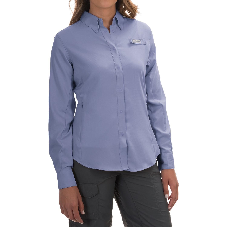 Columbia sportswear tamiami ii fishing shirt for women for Womens fishing shirt